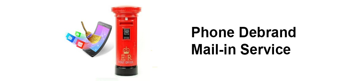 Phone Debrand Mail-in Service