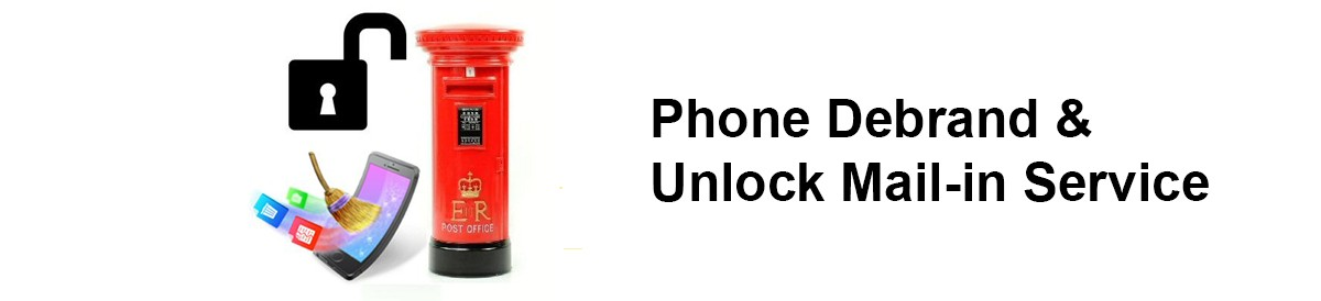Phone Debrand & Unlock Mail-in Service