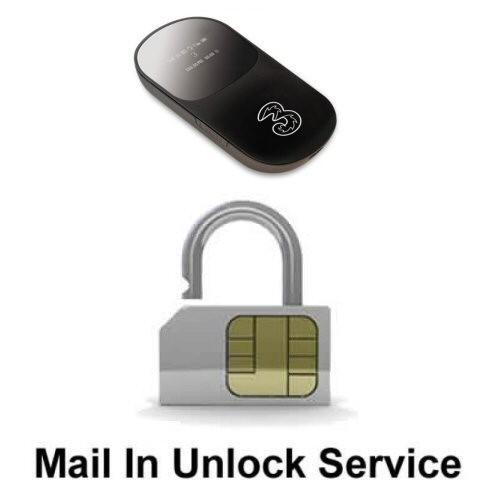 Broadband Dongle MiFi Network Unlock Service (mail-in service)