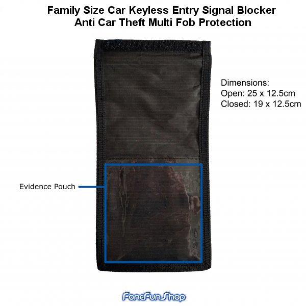 Car Remote Unlocker >> Family Size Car Keyless Entry Signal Blocker Anti Car Theft Multi Fob Protection