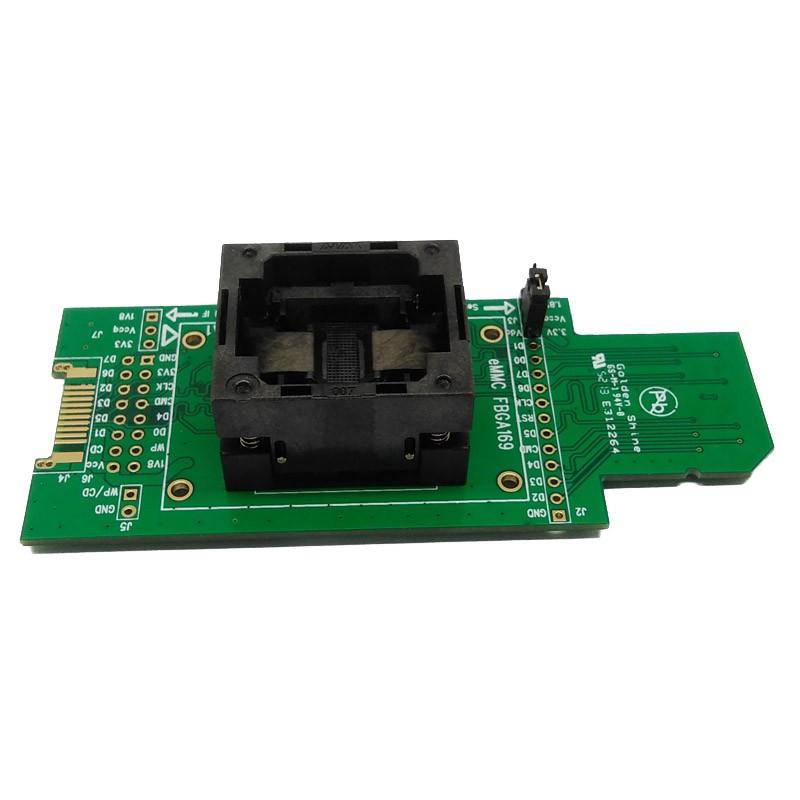 eMMC Burn-In Socket (size 12 x 18mm)