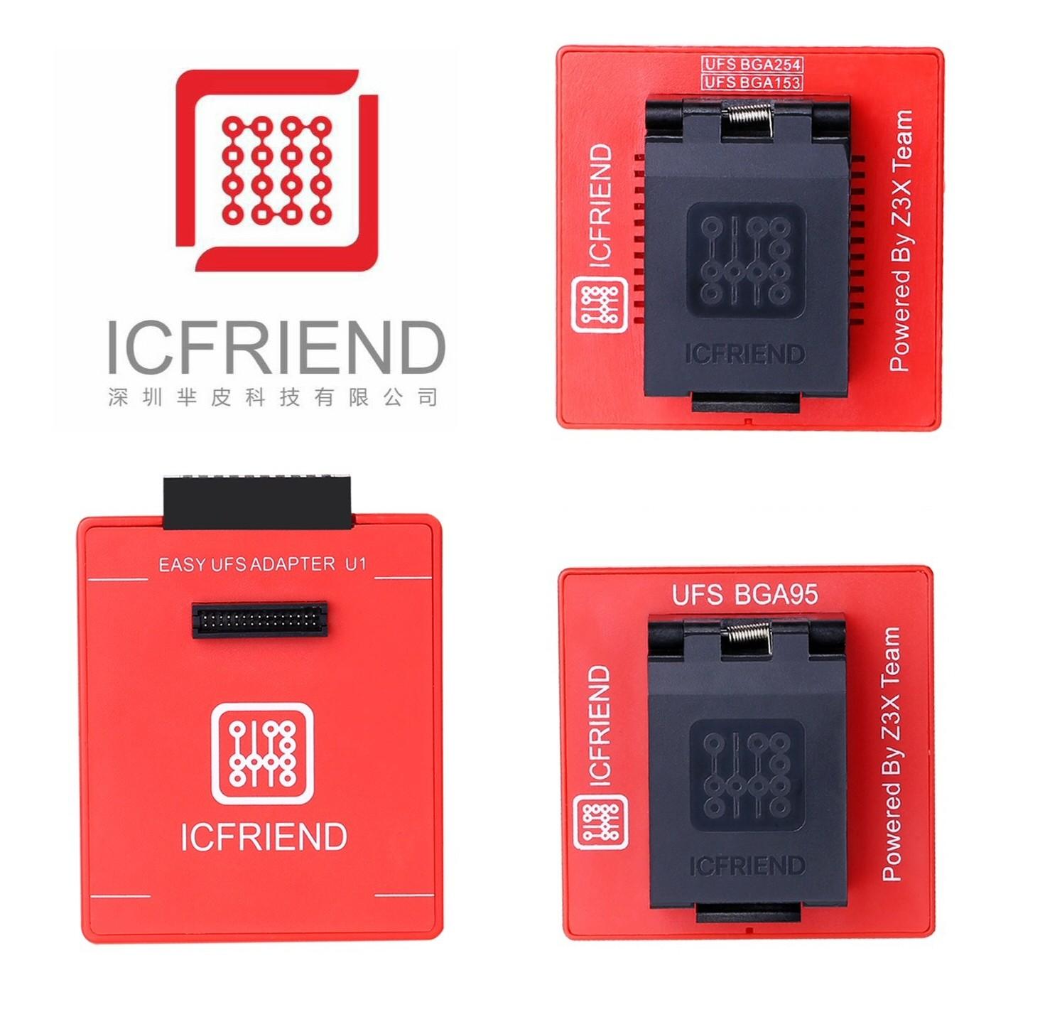 ICFriend 3-in-1 UFS Chip Reader For Z3X Easy JTAG Plus Box