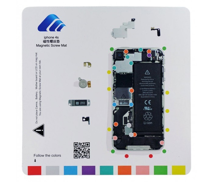 iphone 4s repair magnetic repair mat for iphone 4s 10926