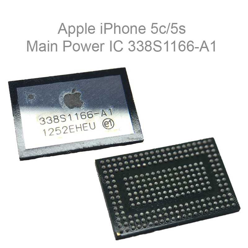 replacement main power ic chip 338s1166 a1 for apple iphone 5c 5s. Black Bedroom Furniture Sets. Home Design Ideas