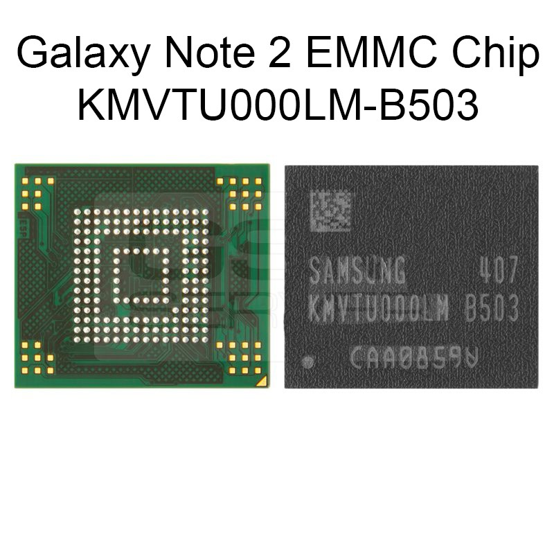 EMMC Chip KMVTU000LM-B503 for Samsung GALAXY Note 2 N7100