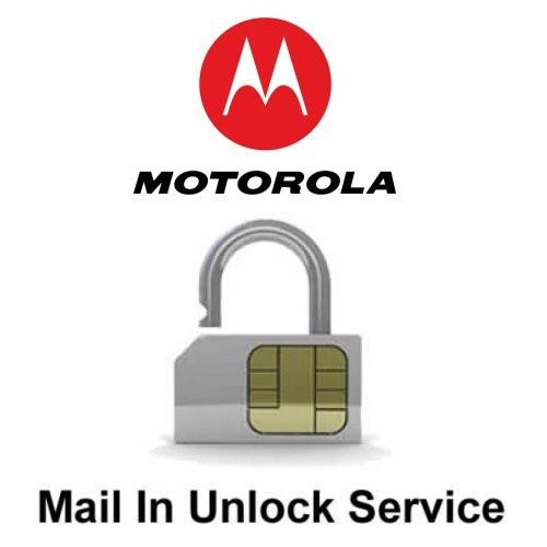 Motorola Network Unlock Service (mail-in service)