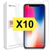 For iPhone 11 Pro / X / Xs - Bulk Pack of 10 X Tempered Glass Screen Protectors