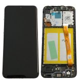 Genuine Samsung Galaxy A20E (A202F) / A20F (A205F)  lcd and touch in Black -Samsung Part no: GH82-20186A