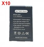 10 X Battery BPA02-5001 For Drive 360 / Texet TM-650 / SHTURMANN 500FM / 510