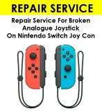 Nintendo Switch Joy Con Thumb Joystick Repair Service