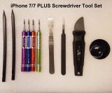NEW Apple iPhone 7/7 PLUS Repair 10-in-1 Deluxe Leather Screwdriver Tool Kit Set
