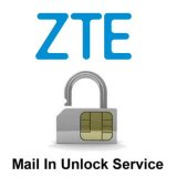ZTE Network Unlock Service (mail-in service)