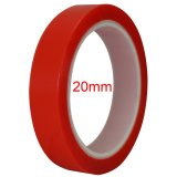 20mm Wide High Strength Double Sided Sticky Clear Red Tape For iPad and Repair