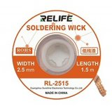 Relife Desoldering Wick RL-2515 (1.5m Long - 2.5mm Wide)