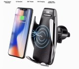 Intelligent Auto Grab Robotic Vent Mount Wireless Car Charger