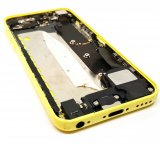Preowned Genuine Apple Yellow Housing With Parts For iPhone 5C (Used)
