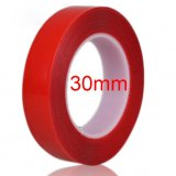 30mm Wide High Strength Double Sided Sticky Clear Red Tape For iPad Phone Repair