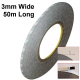 3mm Wide High Temperature Resistant Double Sided Black Tape