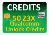 50 Z3x Qualcomm Unlock Credits