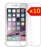 For iPhone 7 Plus / 8 Plus - Bulk Pack of 10 X Tempered Glass Screen Protectors
