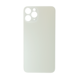 For iPhone 11 Pro Plain Glass Back Replacement in White