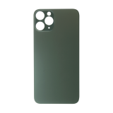 For iPhone 11 Pro Plain Glass Back Replacement in Green