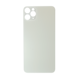 For iPhone 11 Pro Max Plain Glass Back Replacement in White