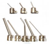 8 Piece Angled Nozzle Set For Hot Air Rework Station