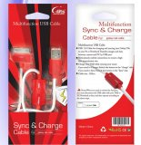 Multifunction Sync & Charge Cable for Samsung Galaxy Tab 1 & 2