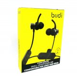 Budi Stereo Wireless in ear headphones With Ear Support