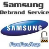 Samsung Debrand & Unlock by post Service