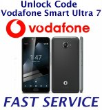Vodafone Smart Ultra 7 (V700) Network Unlock Code