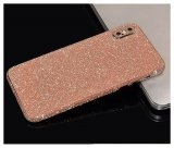 For iPhone 7 Plus - Rose Gold Glitter Bling Rear Glass Protector