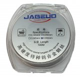 Jabeud 0.065mm High Hardness Tungsten Wire (100m long) For Phone Screen Recycle