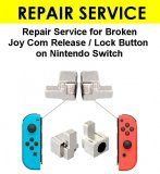 Nintendo Switch Joy Con Lock Button Metal Fix Repair Service