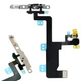Power Button Flex with Mic and Flash With Bracket For iPhone 6