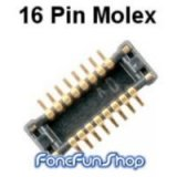 16 Pin Molex Port For Lumia 510/610 (for use with Jtag Unlock Cable)