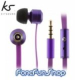 Kitsound Ribbons Earphones - Purple