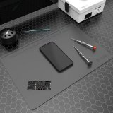 2UUL Heat Resistant Silicone Work Mat in Grey