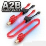 USB A-B Mini Combo Cable