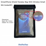 SmartPhone Shield Faraday Bag With Window - Small (VKF1)