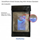 SmartPhone Shield Faraday Bag With Window - Medium (VKF2)