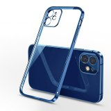 Clear Cover Back Case for Samsung Galaxy S8 Plus in Blue