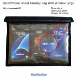 SmartPhone Shield Faraday Bag With Window - Large (VKF3)