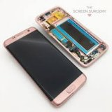 LCD Screen and Digitizer for Samsung Galaxy S7 Edge - Pink