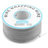 1000Ft Circuit Board JTAG Tin-Plated Copper Wire 0.25mm 30AWG Grey