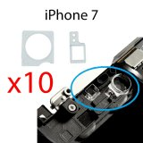 Pack of 10 x Plastic Holder Brackets for iPhone 7 Camera and Proximity Light Sensor