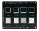 For iPhone A8, A9, A10, A11 CPU - Mijing BGA Reballing Stencil (IPH-5)