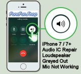 iPhone 7 Audio IC Repair Service