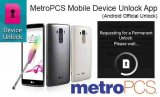 MetroPCS Android Factory Unlock